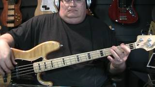 Peter Schilling Major Tom (Coming Home) Bass Cover with Notes & Tab