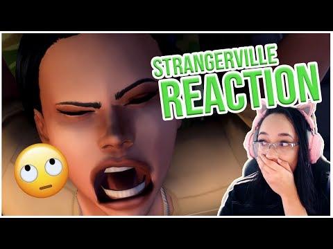 STRANGERVILLE PACK REACTION! // THE SIMS 4  