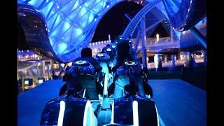 Tron Lightcycle Power Run FULL POV at Shanghai Disneyland