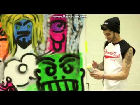 Zayn Maliks graffiti wall video 1DDay
