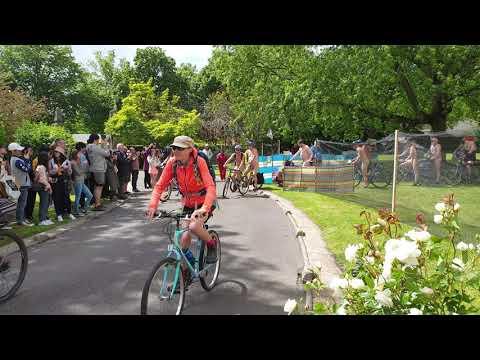World Naked Bike Ride Toronto - June 12, 2021 - YouTube