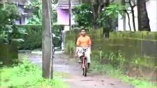 Funny moment of falling with bysicle and malayalam super album song