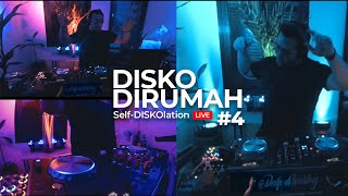 Deep to Tech House #DISKODIRUMAH Self-DISKOlation Session #4 from The Studio [ LIVE Recorded ]