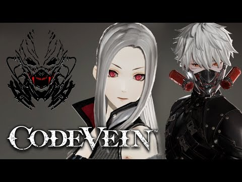 Code Vein Character Customization Is INSANE!! 😍 (Network Test)