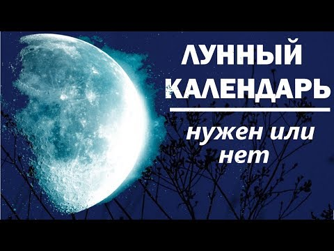 Лунный календарь огородника. Нужен или нет.Как влияют лунные циклы на растения.