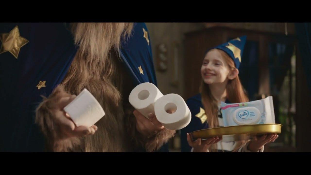 """Musique pub nouveau papier toilette humide Lotus """"un conte Lotus""""  juillet 2021"""