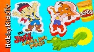 PLAY DOH Jake Neverland Pirates Set HobbyKidsTV