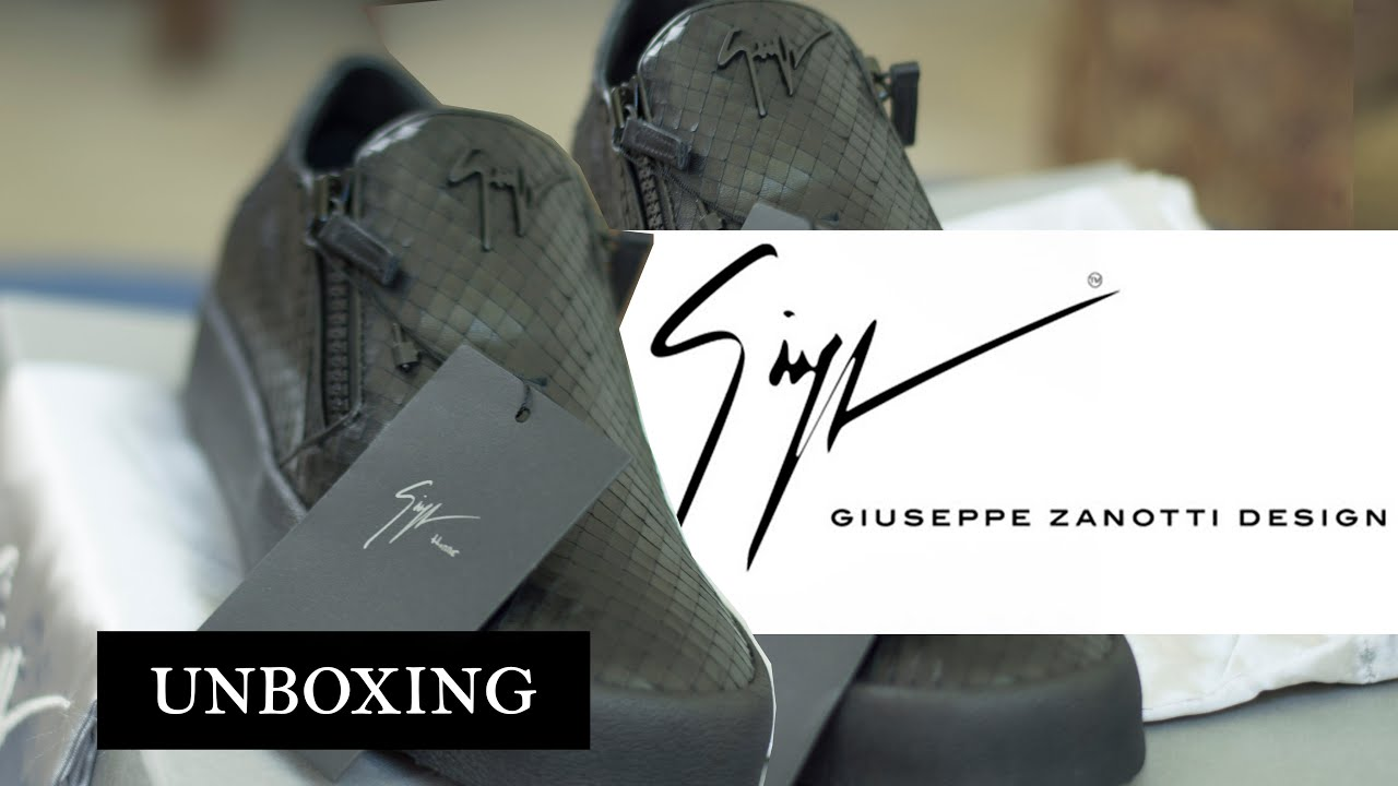 0b3633505b8 My First Luxury Shoe! Unboxing  Giuseppe Zanotti (NOT BRAGGING ...