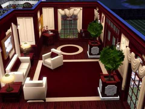 Sims 3 herrenhaus alte moderne youtube for Modernes haus sims 4