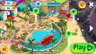 Talking Tom Pool Android Gameplay Level Complete 45-49 | Kids Game Talking Tom Pool