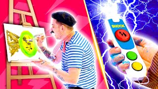 THE BOYS EXTREME PAINTING CHALLENGE