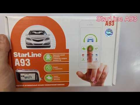 Обзор StarLine A93 2can 2Lin