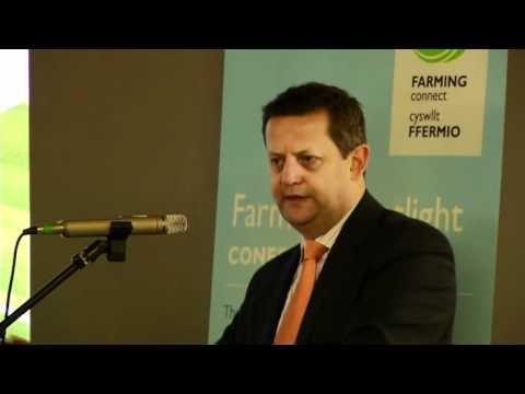 Alun Davies - Farming Spotlight Conference - Farming Connect