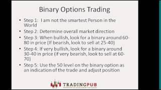 Nadex Trading Strategies- Morgan Busby 10.29.13