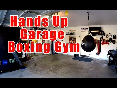 Garage Boxing Gym - Hands Up Boxing Gym - Boxing Training