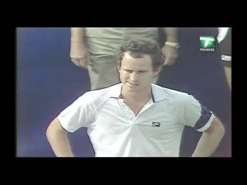 Ivan Lendl vs John McEnroe  Final Us open 1985