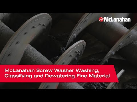 McLanahan - Screw Washer