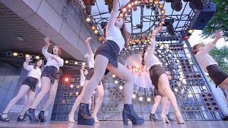 돌스 | 나인뮤지스 - 댄스팀 클라썸(Clawsome) 밀리오레 공연 chulwoo 직캠(Fancam)
