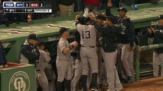 a rod ties mays with home run no 660