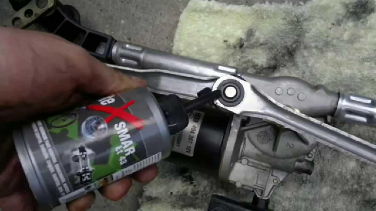 Jak Wymienić Naprawić Mechanizm Silnik Wycieraczek Opel