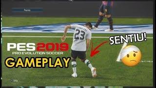 PES 2019 GAMEPLAY - JOGADOR SE LESIONA E CONTINUA EM CAMPO! - BARCELONA VS LIVERPOOL