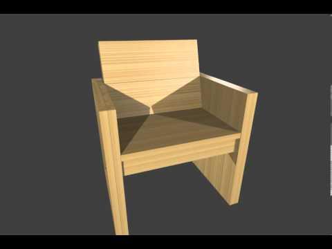 Stoel maken zelf een stoel maken van steigerhout le for Zelf tuintafel maken van steigerhout