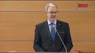 Sympozjum WSKSiM: Jerzy Kwieciński, minister inwestycji i rozwoju
