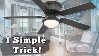HOW TO CLEAN DIRTY CEILING FANS WITH NO MESS