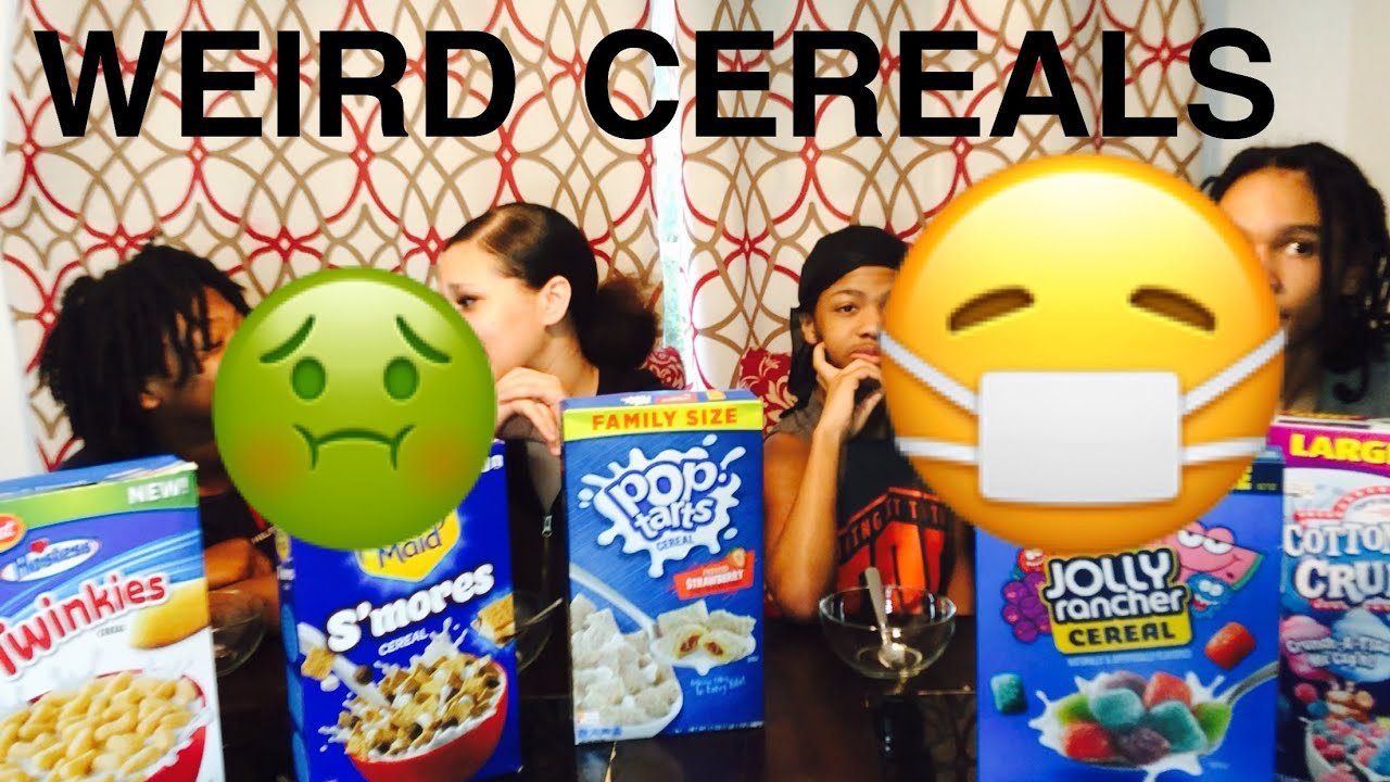 TASTE TESTING ALL THE WEIRD CEREALS| LIMITED EDITION CEREALS|
