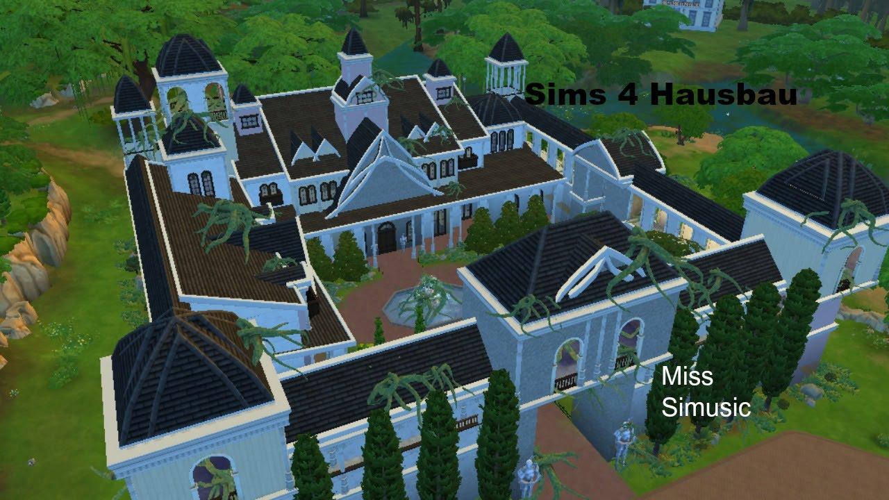 Die sims 4 hausbau dornr schens schloss teil 2 youtube for Sims 4 dach bauen