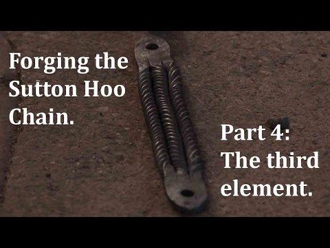 Forging the Sutton Hoo Chain. Part 4: the third element.