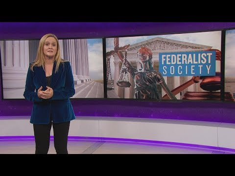 The Federalist Society: Trump's Shit Judge Pipeline | September 27, 2017 Act 2 | Full Frontal on TBS