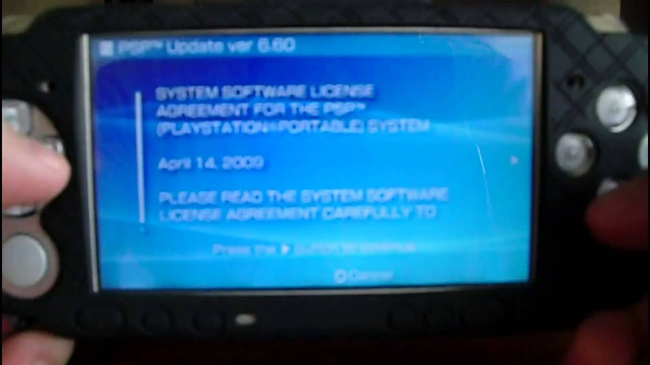 How to Upgrade Your PSP Firmware