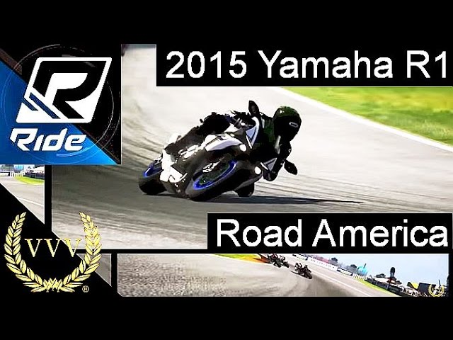 Ride - 2015 Yamaha R1 Road America Multicam