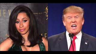 Cardi B Talks Trump Starting A Race War