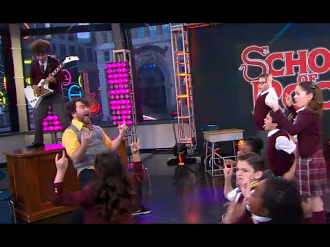 'School of Rock' Cast Performs 'Stick It To The Man'