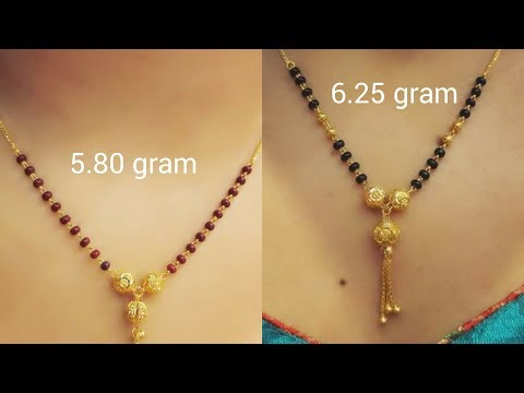 Latest Gold Mangalsutra Designs For Daily Use