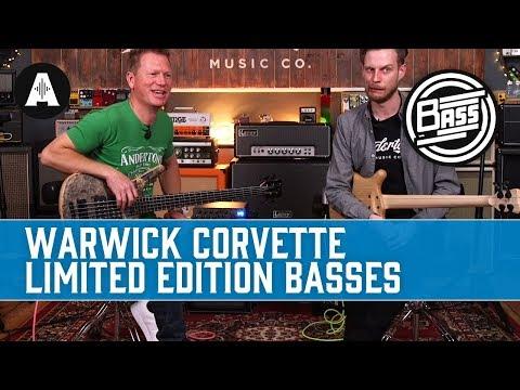 Warwick Corvette $$ Limited Edition Basses - Stunning & Californian-made!