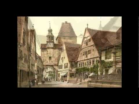 Fairytale Town Rothenburg ob der Tauber - Germany !