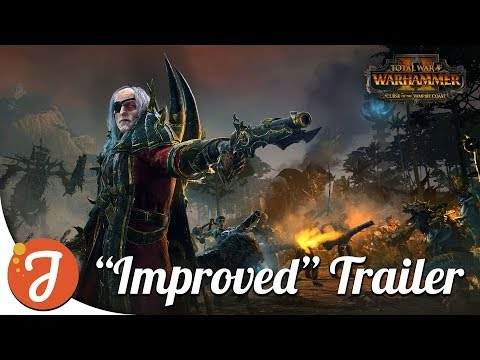 Curse of the Vampire Coast DLC | Totally Legit Trailer | Total War: WARHAMMER II
