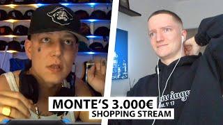 Justin reagiert auf Montes neuen 3000€ Shopping Stream.. | Reaktion