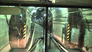 立山黒部貫光無軌条電車線立山トンネルトロリーバス