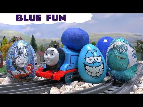 thomas amp friends minions funny prank play doh accident