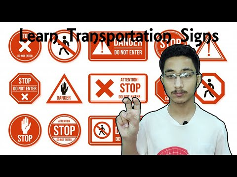learn transportation signs
