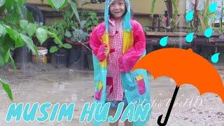 Anak Kecil Asik Mandi Hujan ❤ Happy Rain Kids - Kids Activities