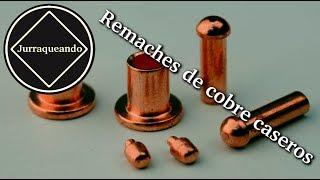 Home copper rivets