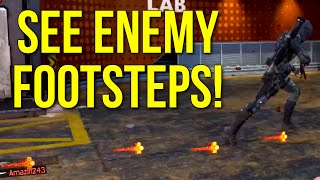 Black Ops 3: SEE ENEMY FOOTSTEPS! (Tracker Perk PSA)