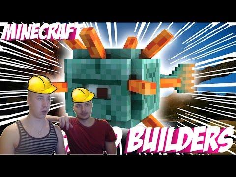 Minecraft Speed Builder | w/ Bercea, Seby | Constructiile cu capul in jos | Ep #11