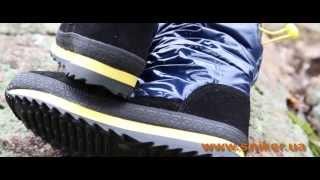 Женские зимние сапоги-дутики Spur Electric Blue. Видео-обзор обуви Sniker.ua