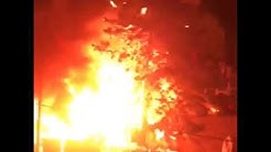 Tensions et incendie dans la cité des Sycomores à Bezons